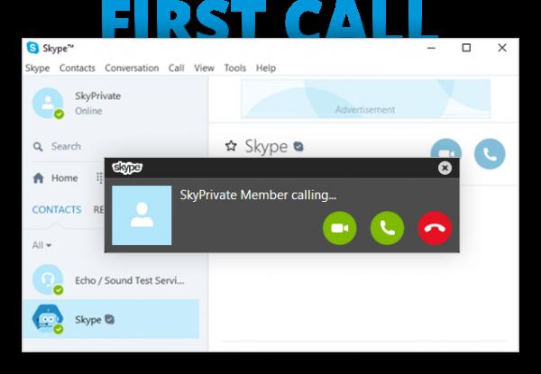SkyPrivate Member calling
